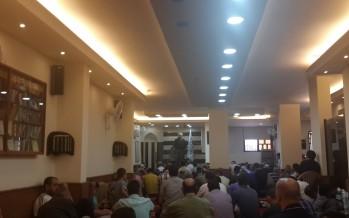 خطبة الجمعة للشيخ محمد عيد من داخل مسجد صلاح الدين